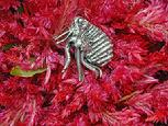 Sterling silver FLEA lapel pin or tie tack.Looks great on sweater or blouse too. $65.00