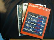 AMERICAN CRAFT BACK ISSUE MAGAZINES